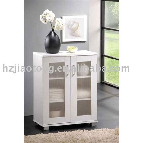White Bathroom Floor Storage Cabinet White Laminate 2 Bathroom Floor Storage Cabinets