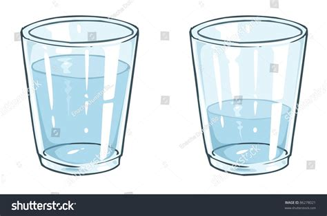 glass cartoon watter glass cartoon stock vector 86278021 shutterstock