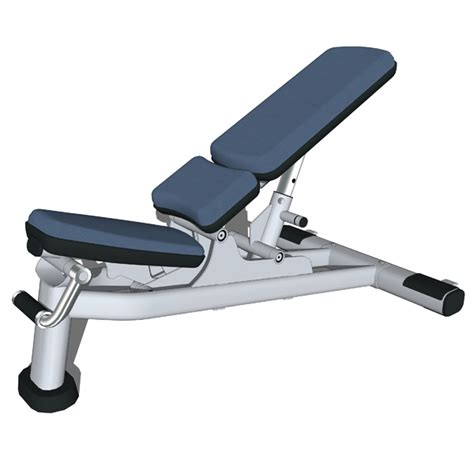 life fitness bench multi adjustable bench 3d model formfonts 3d models