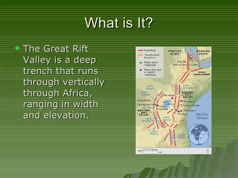 valley fact a africa the great rift valley