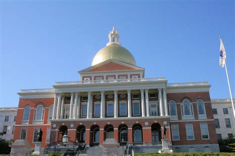 Boston State House by Massachusetts State House Boston A Photo From