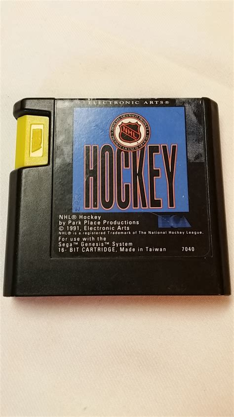 Kaset Cartridge Sega Nhl nhl hockey cartridge only sega genesis