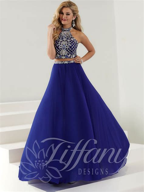 design homecoming dress tiffany designs 16175 prom dress prom gown 16175