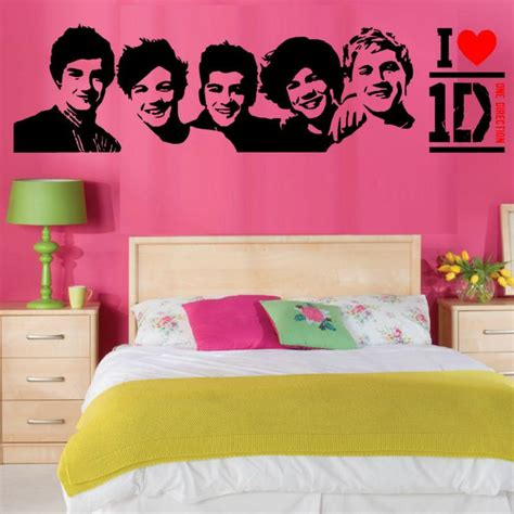 one direction room one direction wall vinyl room sticker transfer decal 1d fast dispatch