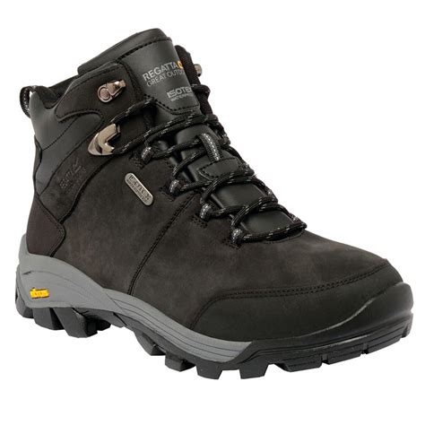 mens outdoor boots regatta great outdoors mens asheland lace up hiking boots