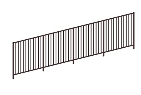 banister rail generic metal railings bim objects families