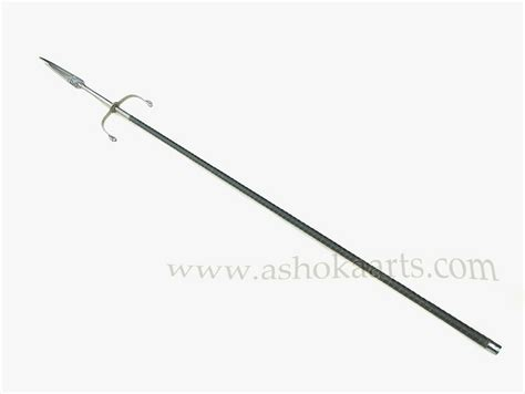 Shop For Home Decorative Items Indian Wootz Steel Bladed Lance From Rajasthan Fine Indo