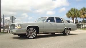 1990 Cadillac Fleetwood Brougham D Elegance Purchase Used 1990 Cadillac Fleetwood Brougham D Elegance