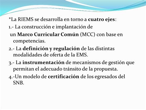 Diseño Curricular Base Definicion Reforma Integral De La Educaci 243 N Media Superior