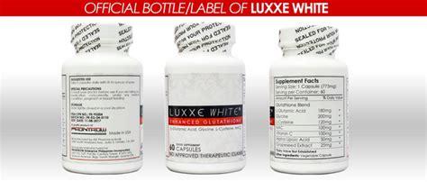 Glutathione Initial Detox Effects by Luxxe White Enhanced Glutathione Skin Whitening 60