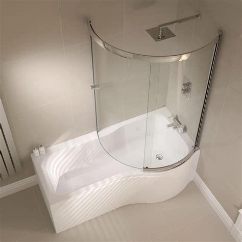 bathtub shapes april prestige 984 x 1500mm p shaped sliding bath screen