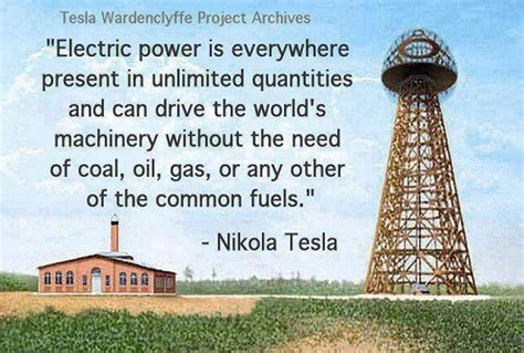 Tesla Nikola Free Energy Nikola Tesla Free Energy Democracy Where It