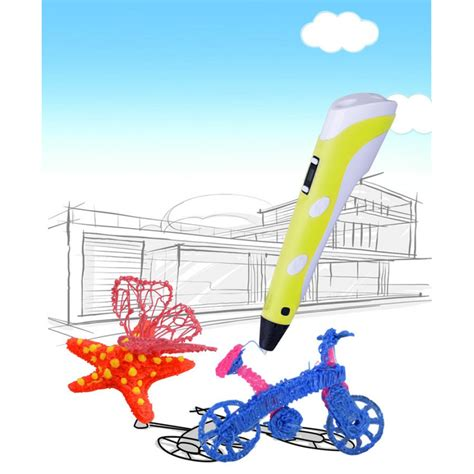 3d doodle pen price in india domo nscribe build 3d doodling pen with lcd display