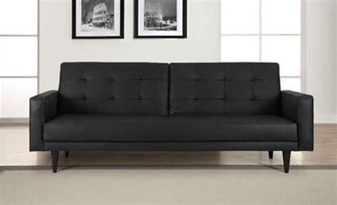 domus vita design convertible sofa 8 black convertible sleeper sofas for your living room