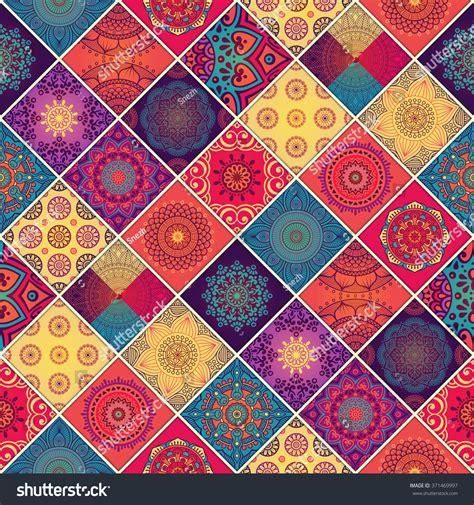 pattern illustrator indian seamless pattern vintage decorative elements oriental