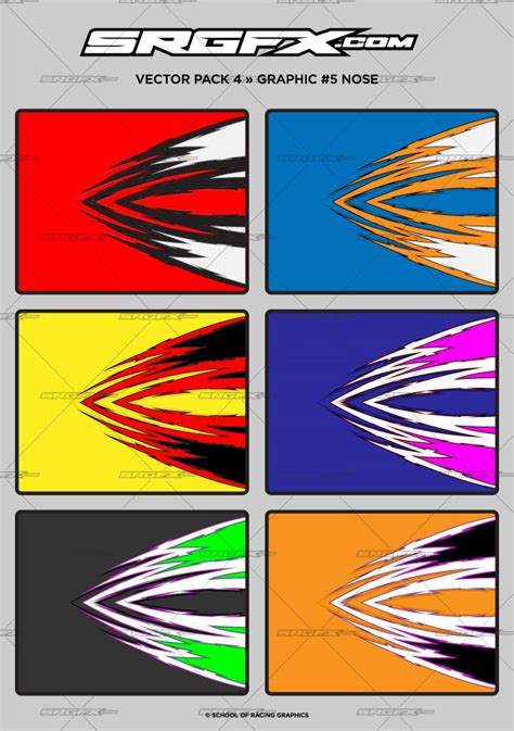 design graphics pack vector racing graphics pack 4 srgfx com
