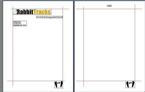 business letter letterhead second page create a custom letterhead template in word techrepublic