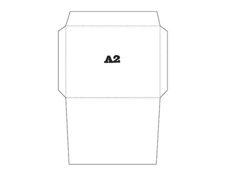 a2 envelope template free printable envelope template a2 printables