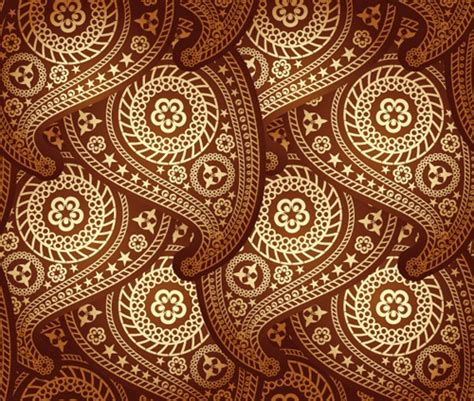 V51 Wallpaper Sticker Motif Vintage Brown design team logo vector free graphics collection my