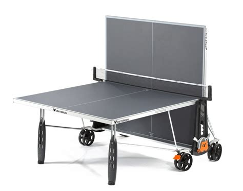 table cornilleau outdoor cornilleau 250s crossover ping pong table
