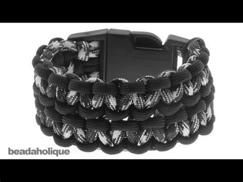 Blackmambas Snake Trails Survival Bracelet how to make the bane s cuff paracord bracelet with buckles