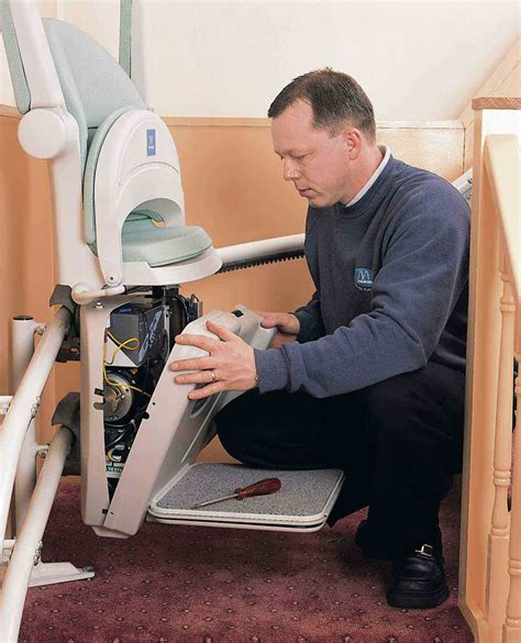 Chair Lift Maintenance by Installation Repair Service Acorn Stairlifts Advice