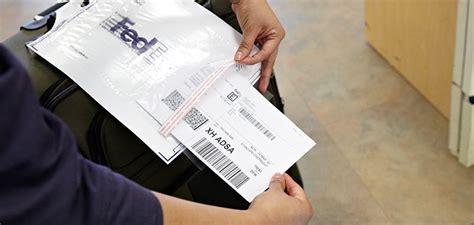 fedex global returns how to create a return label