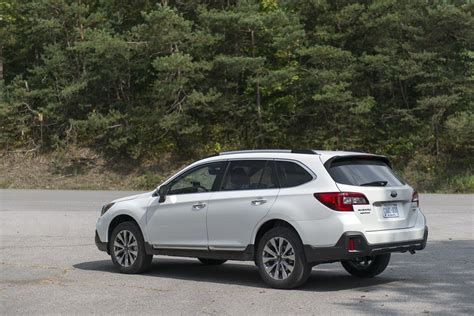 subaru outback 2018 white 2018 subaru outback review first drive a refresh with