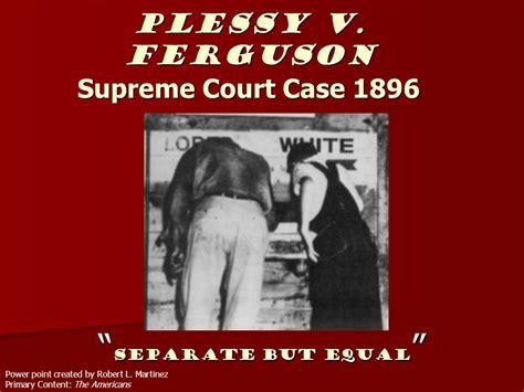Plessy V Ferguson Images
