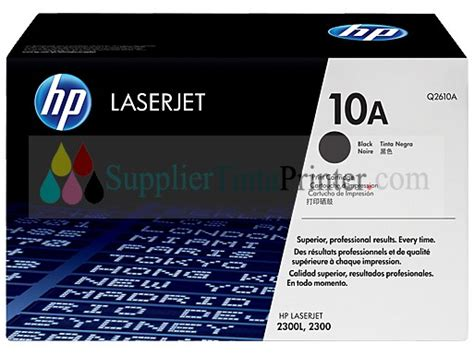 Tinta Hp 10 Black Original by Hp Black Toner 10a Q2610a
