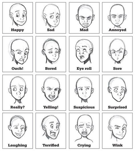Drawing Expressions by 25 Best Ideas About Expressions On