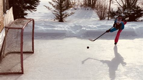 Darren Dreger Backyard Rink by These Outdoor Rinks Show Just How Far Hockey Fans Will Go