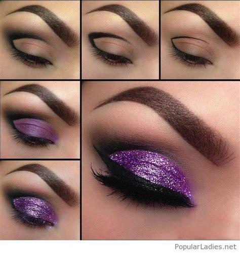 Tutorial Eyeshadow Wardah Seri E 17 mejores ideas sobre glitter eyeshadow tutorial en maquillaje de ojos brillante
