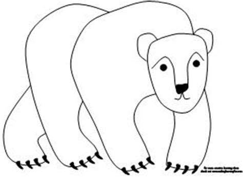 coloring pages for brown bear by eric carle best photos of polar bear eric carle printables polar
