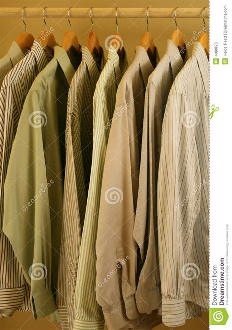 light colored mens mens light colored dress shirts royalty free stock image