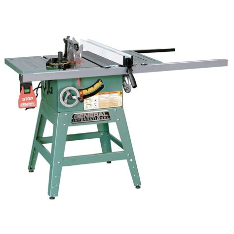 excalibur 230 volt 10 in site table saw with legs 50