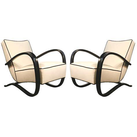 jindrich halabala pair of deco armchairs modernism - Halabala Jindrich