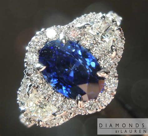 Blue Safir 1 1 1 84ct blue oval sapphire ring