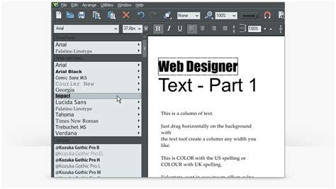 video tutorial xara web designer xara web designer premium tutorials