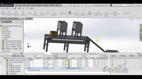 tutorial solidworks motion study motion analysis solidworks tutorial part 1 youtube