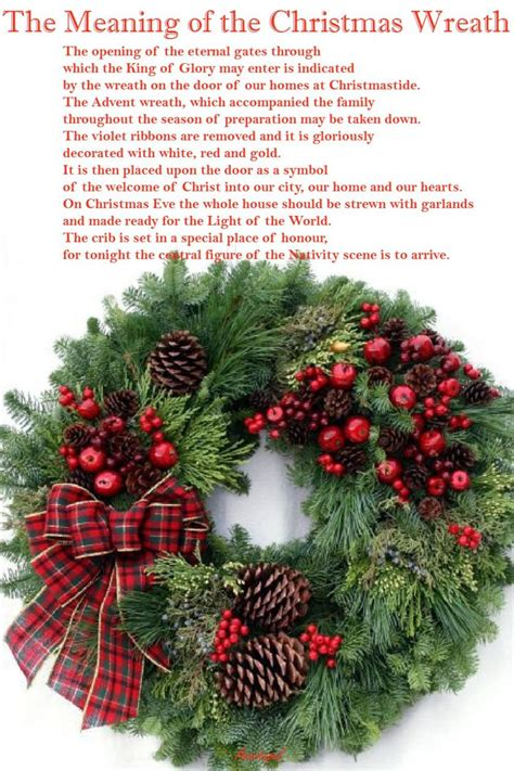 the meaning of the christmas wreath anastpaul