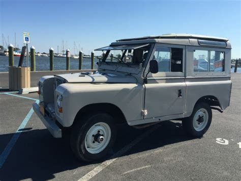 land rover series 3 4 door 1973 land rover series iii 2 door with safari window and