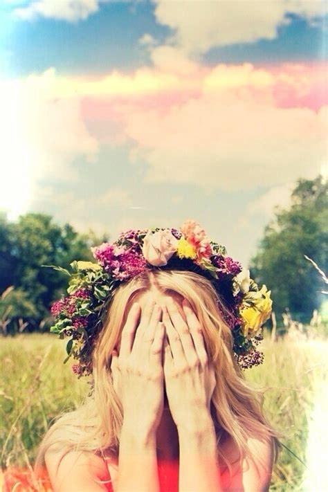 wallpaper flower crown flower crowns tumblr image 1602943 by voron777 on