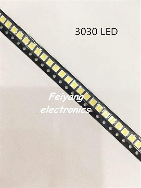 power diode smd 100pcs high power smd led 1w 3v cold white 3030 led diode lcd back light lighting television