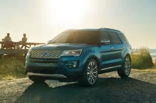 Explorer Ford 2016 2016 Ford Explorer Front Three Quarter View 1 Photo 26