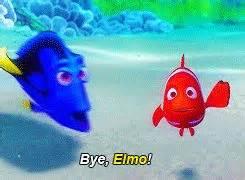 bye elmo finding nemo
