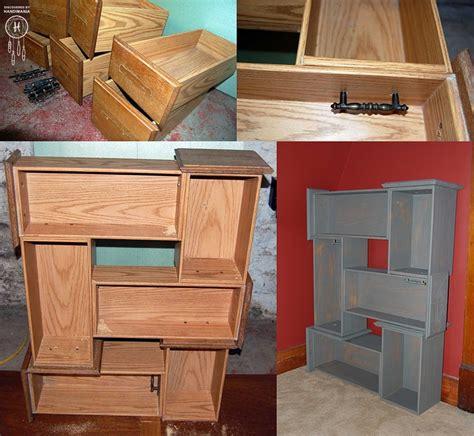 diy using dresser drawers vanity drawers get new life diy furniture