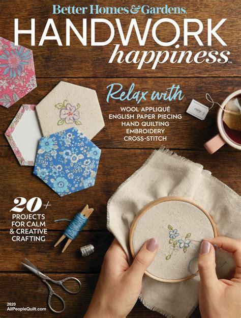 handwork happiness magazine subscription digital