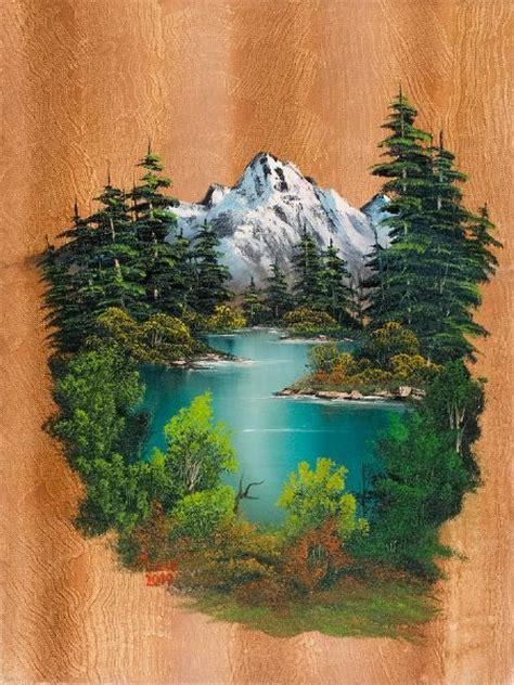 Bob Ross Autumn Paintings Bob Ross Fishermans Paradise