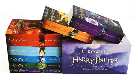 harry potter paperback box harry potter the complete collection box set all harry potter books paperback ebay